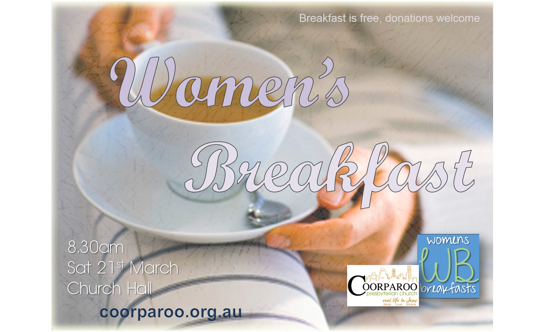 Womens Breakfast March 2015