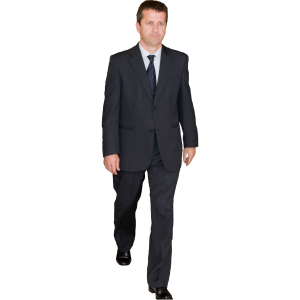 Man-in-Suit-Walking